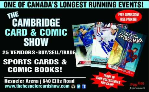The Cambridge Card & Comic Show