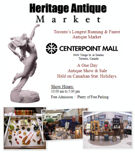 Heritage Antique Market at Ceterpoint Mall