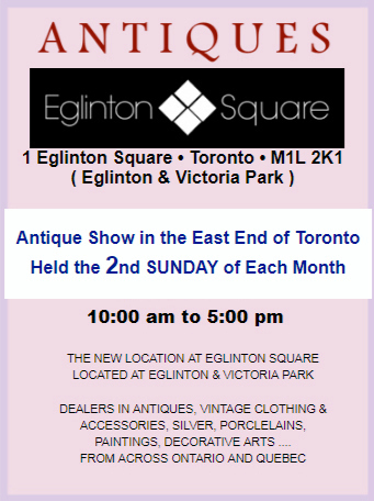 Antique Show in the East End of Toronto