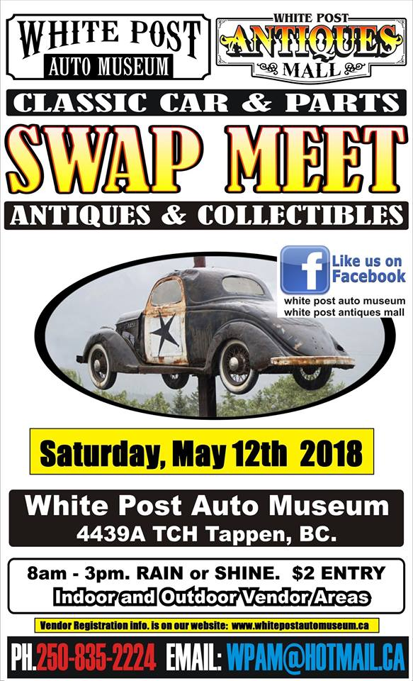SWAP MEET: Classic Cars, Parts, Antiques & Collectibles