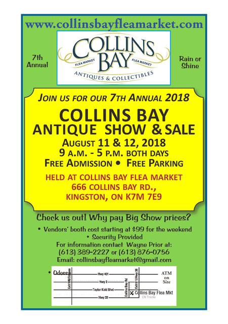 8th Collins Bay Antique Show & Sale