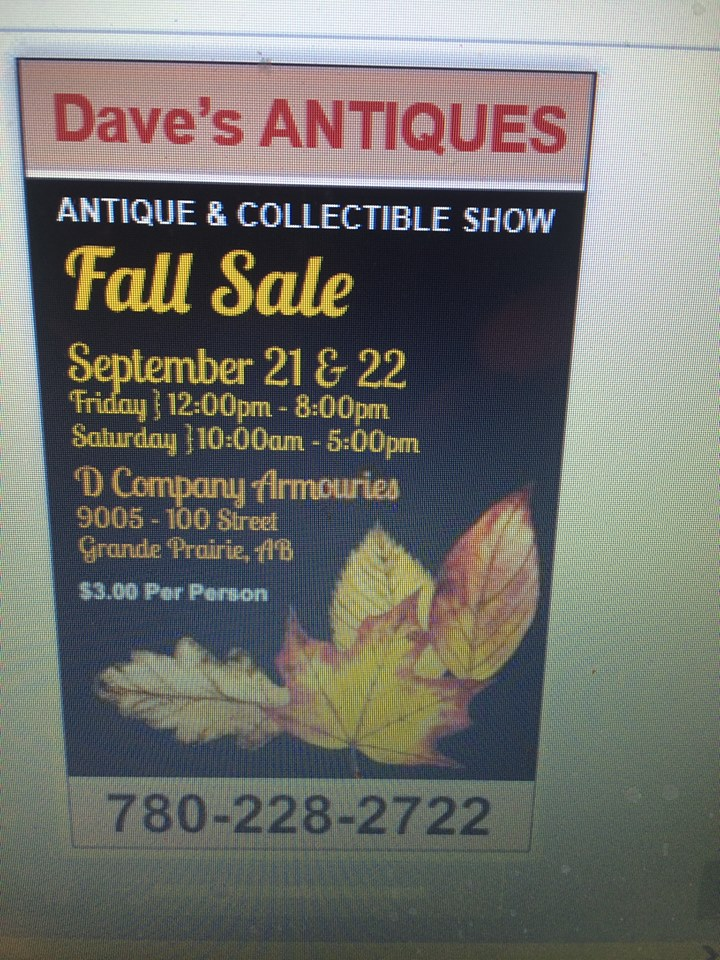 Dave's Antique and Collectible Show