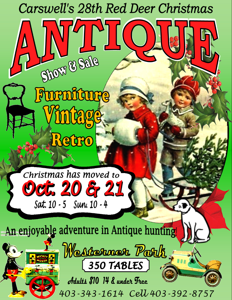 Carswell's  Annual Red Deer Christmas Antique, Vintage & Retro Show & Sale