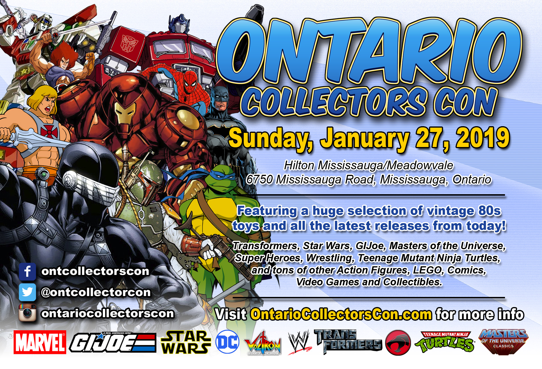 Ontario Collectors Con 2019