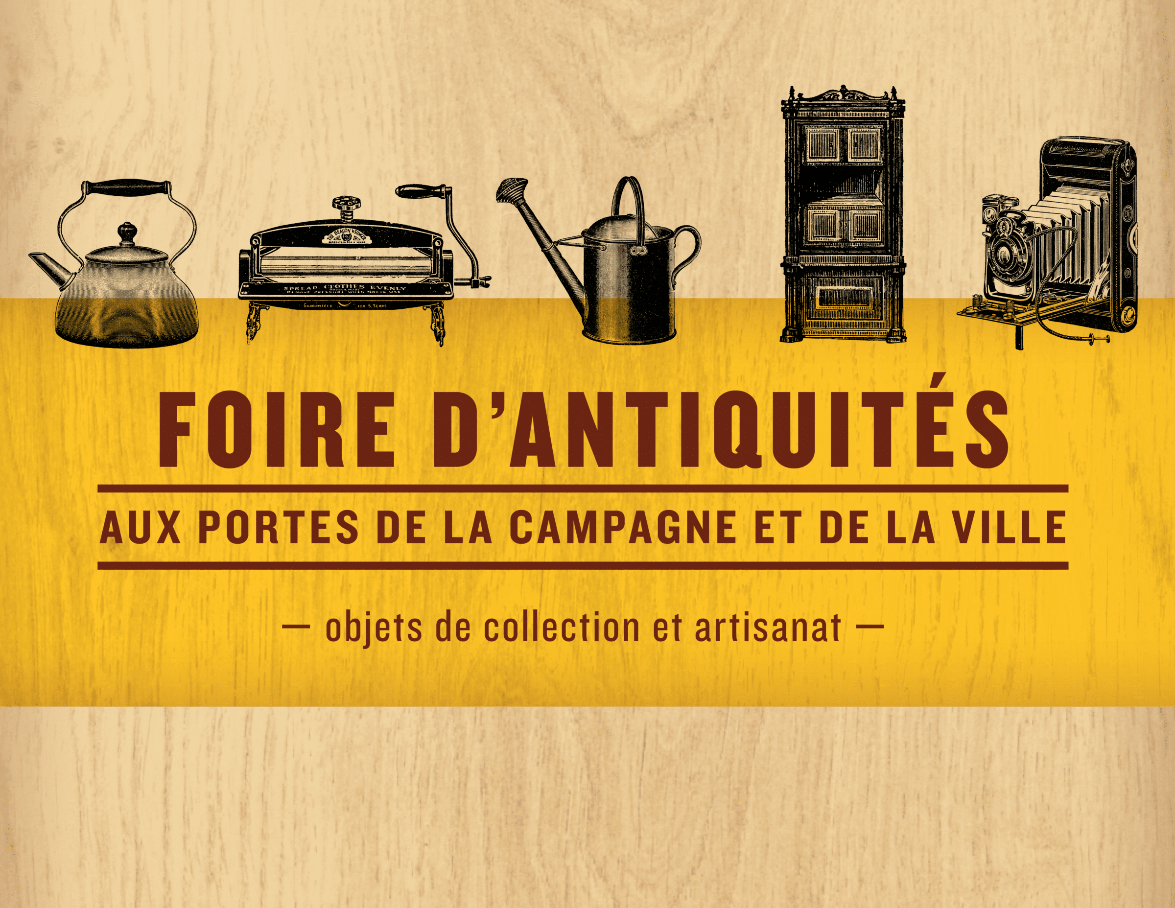 Mouton Village: Antiques Fair 2019