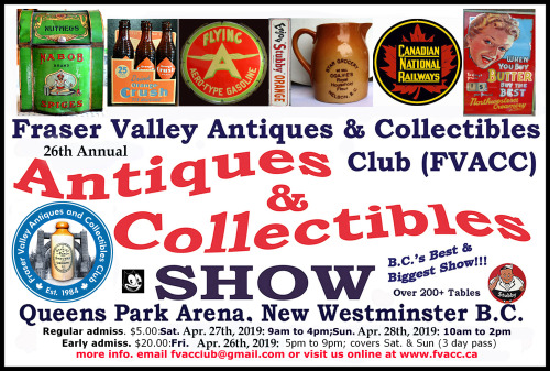 25th Annual FVACC Antiques and Collectibles Show