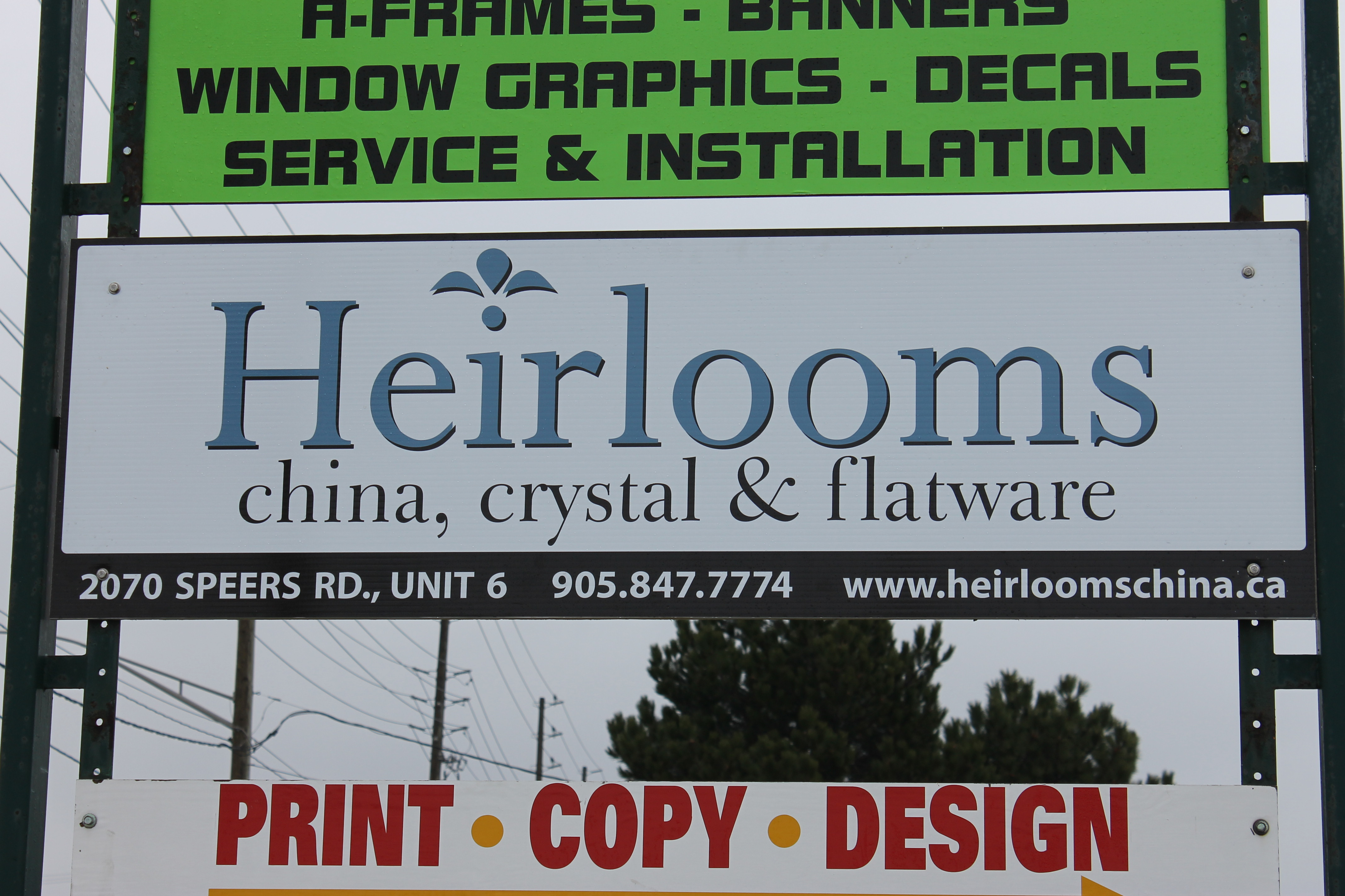 Heirlooms China